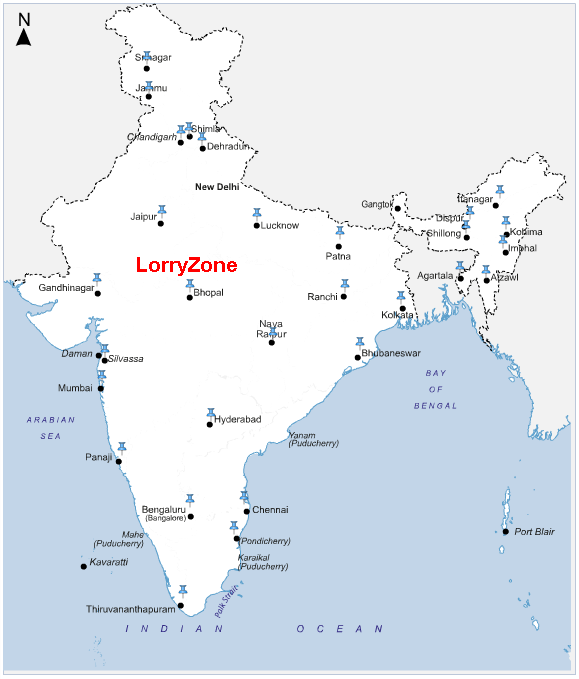 LorryZone Offices Location